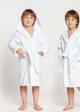 Детские махровые халаты Casual