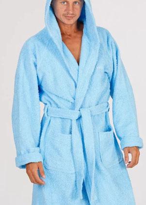 Мужские махровые халаты С капюшоном больших размеров серии Comfort