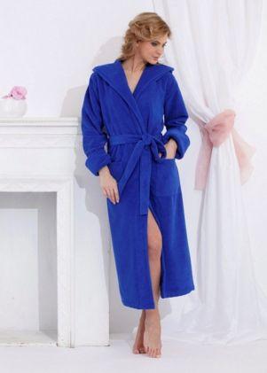 Женские махровые халаты Велюр-махровый серии Premium