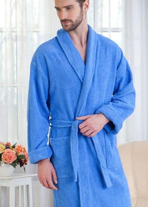 Мужские махровые халаты Casual