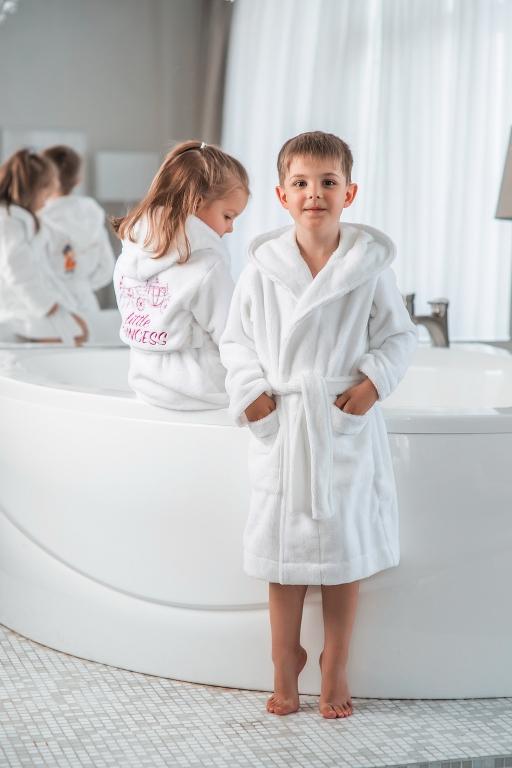 Детские халаты Premium бамбуковый