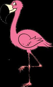 Рисунок для вышивки Фламинго 2