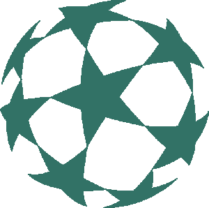 Рисунок для вышивки Мяч