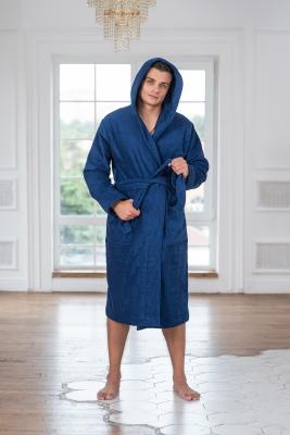 Мужские махровые халаты С капюшоном серии Comfort