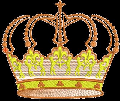 Рисунок для вышивки Корона 15
